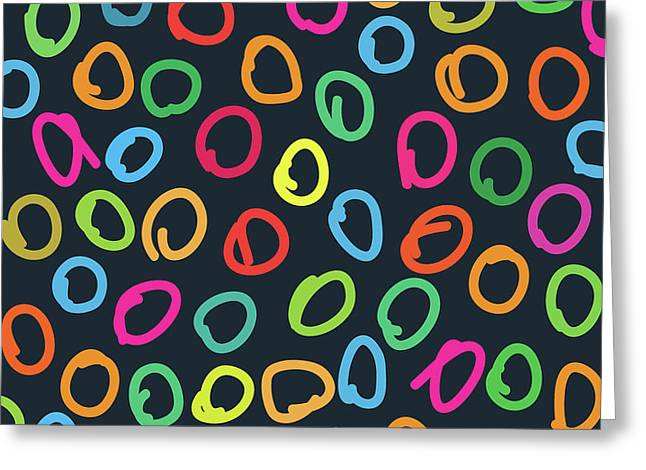 Lovely Pattern  Greeting Card by Amir Faysal