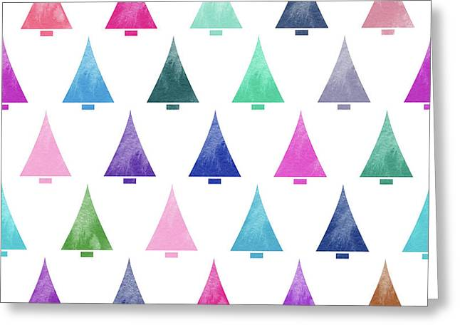 Lovely Pattern IIi Greeting Card by Amir Faysal