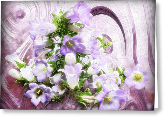 Lovely Spring Flowers Greeting Card