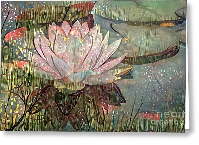 Lovely Waterlilies 5 Greeting Card