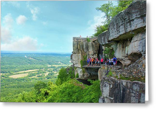 Lover's Leap Greeting Card by Art Spectrum