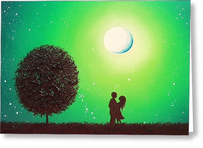 Love's Embrace Greeting Card by Rachel Bingaman