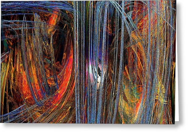 Loves Rhapsody Greeting Card by Michael Durst