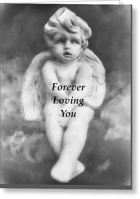 Loving Angel  Greeting Card