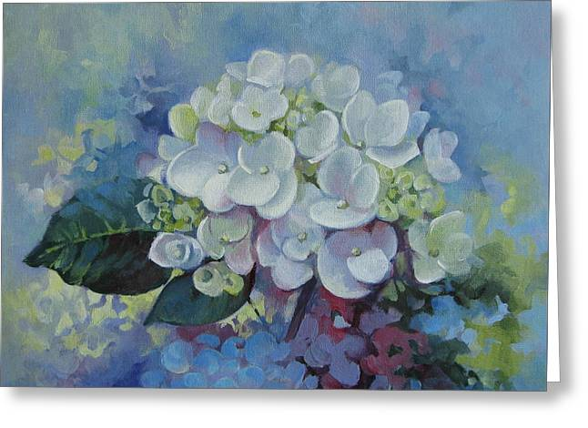 Loving Hydrangea Greeting Card