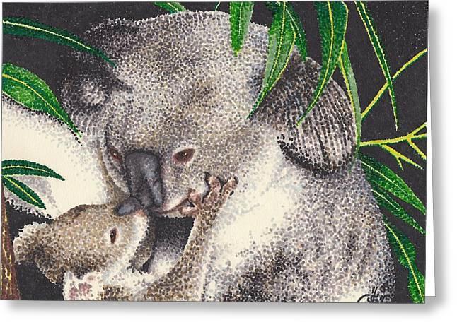 Loving Kiss Greeting Card by Scarlett Royal
