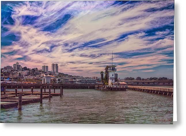 Loving San Francisco Greeting Card by John M Bailey