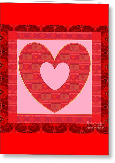 Loving You Greeting Card by Helena Tiainen