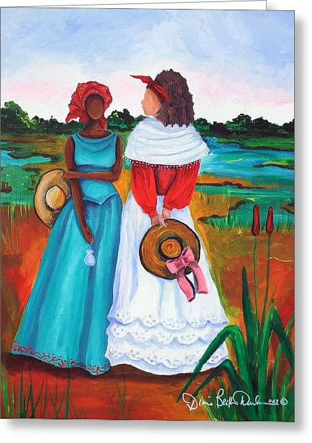 Low Country Ladies Greeting Card