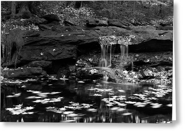 Low Falls Greeting Card by Jeff Severson