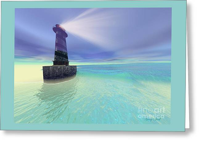 Low Fog Greeting Card by Corey Ford