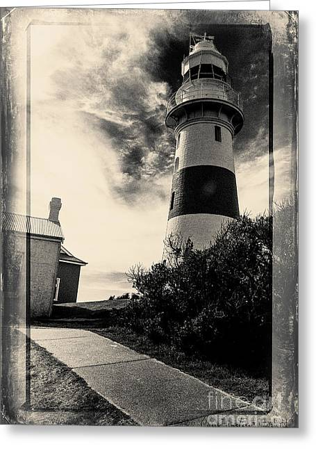 Low Head Lighthouse Greeting Card
