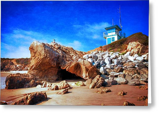 Low Tide At Leo Carillo Greeting Card