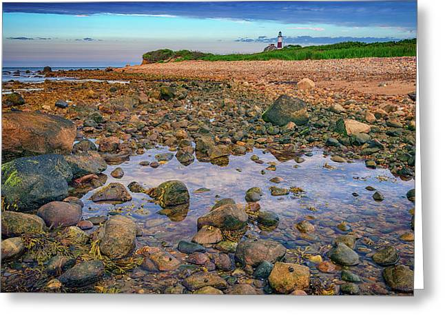 Low Tide At Montauk Point Greeting Card