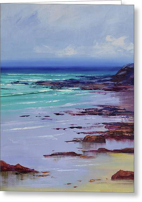 Low Tide Colors Greeting Card