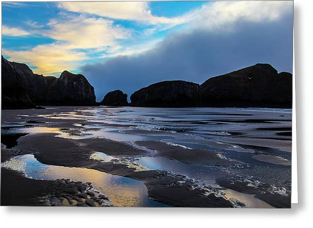 Low Tide Greeting Card by Garry Gay