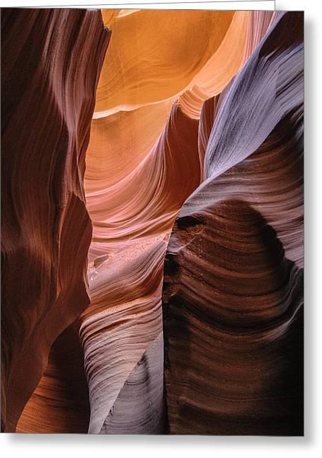 Lower Antelope Canyon Navajo Tribal Park #1 Greeting Card