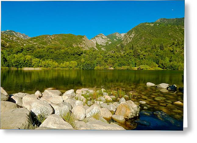 Lower Bells Canyon Reservoir Greeting Card