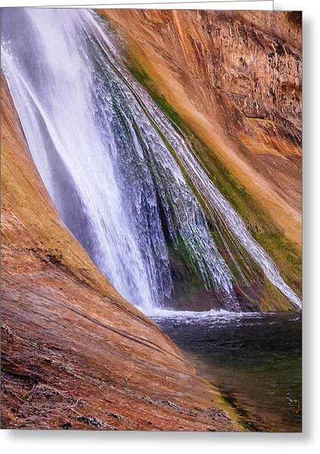 Lower Calf Creek Falls Greeting Card