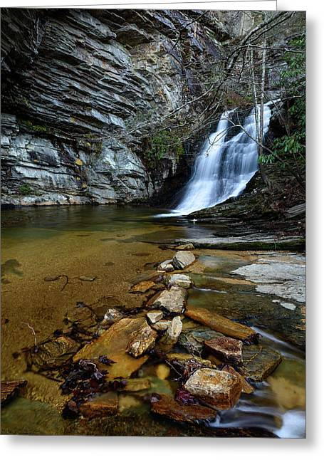 Lower Cascades Greeting Card