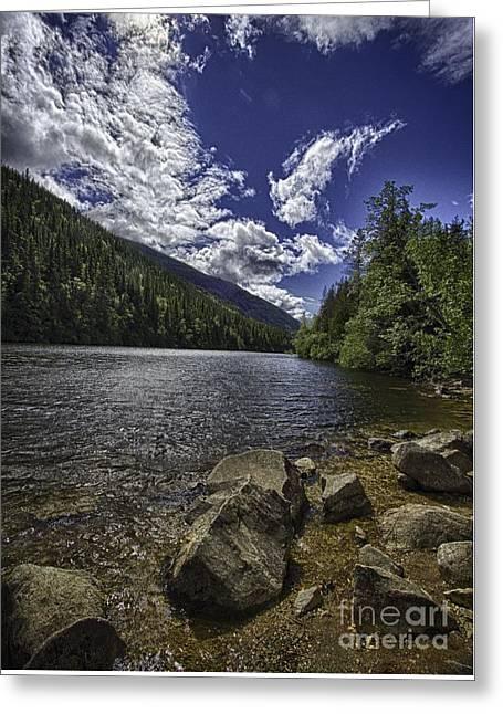 Lower Dewey Lake Greeting Card