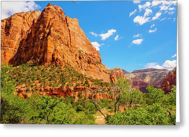 Greeting Card featuring the photograph Lower Emerald Pool Trail - Zion National Park by Penny Lisowski