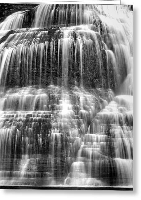 Lower Falls #5 Greeting Card by Stephen Stookey
