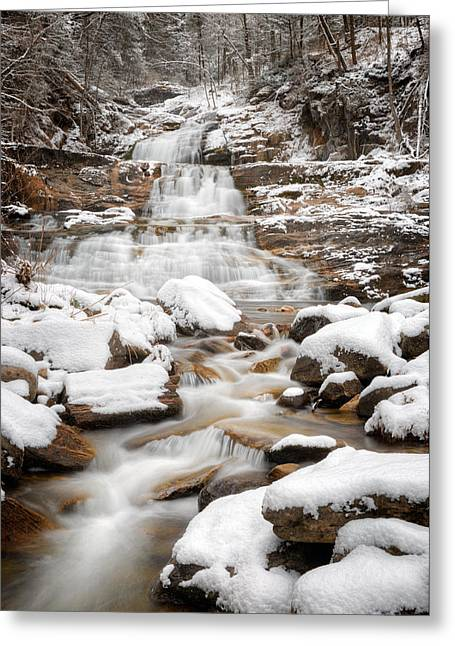 Lower Kent Falls 2016 Greeting Card by Bill Wakeley