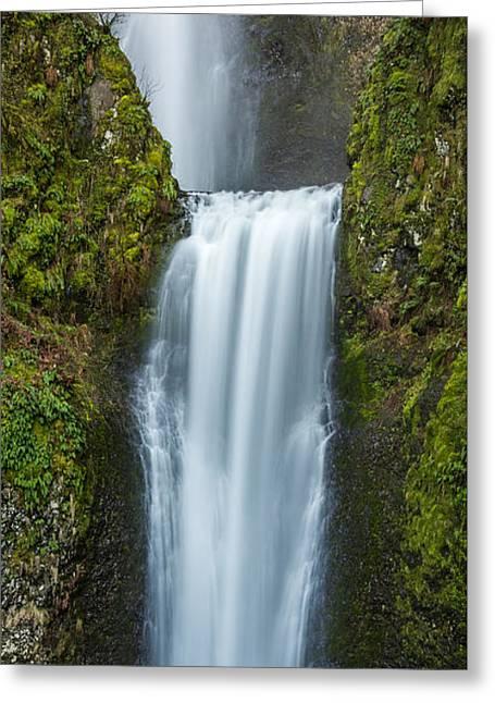 Lower Multnomah Falls Greeting Card