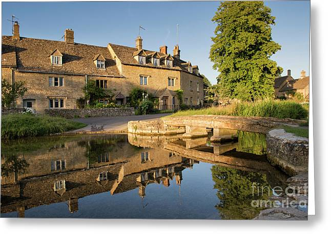 Lower Slaughter Cotswolds Greeting Card