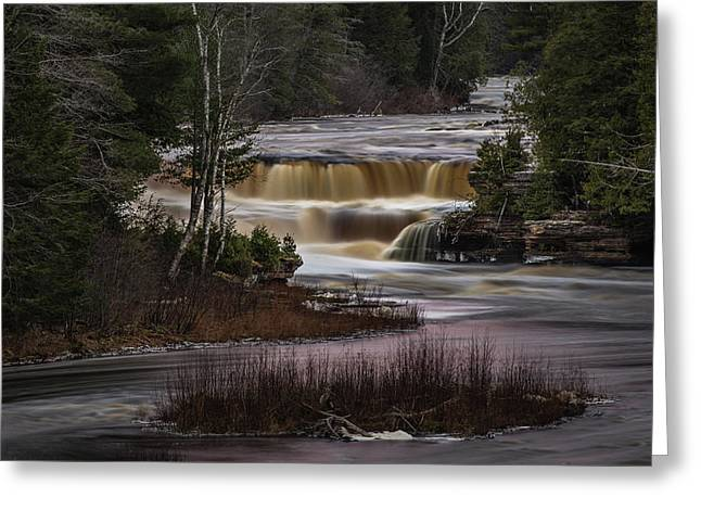 Lower Tahquamenon Falls Greeting Card