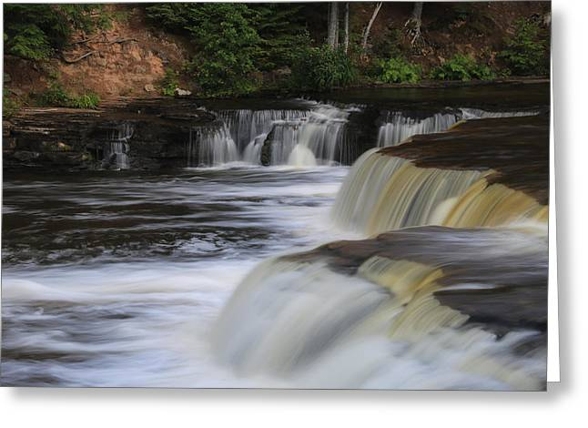 Lower Tahquamenon Summer Greeting Card