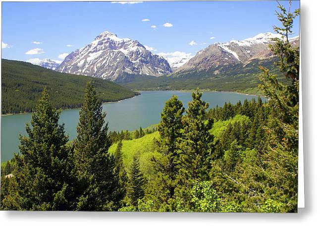 Lower Two Medicine Lake Greeting Card