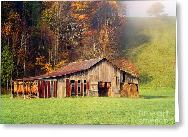 Lowes Barn Greeting Card