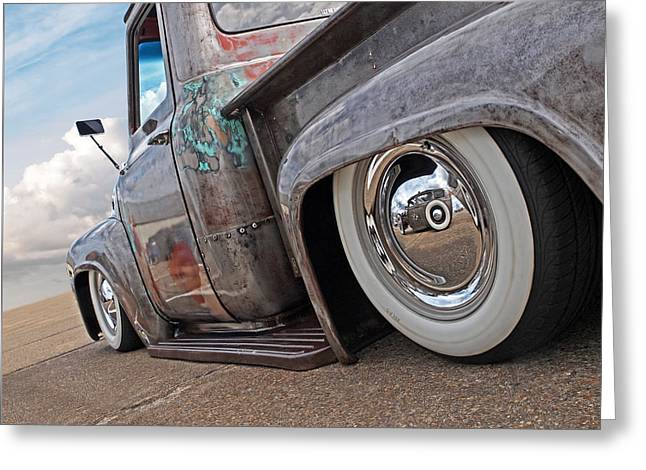 Lowrider - F100 Rear Greeting Card
