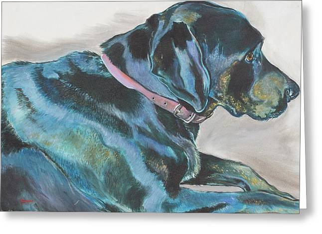 Loyalty Greeting Card by Stephanie Come-Ryker