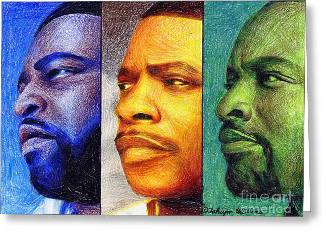 Lsg Music Group Greeting Card by Fahiym Williams