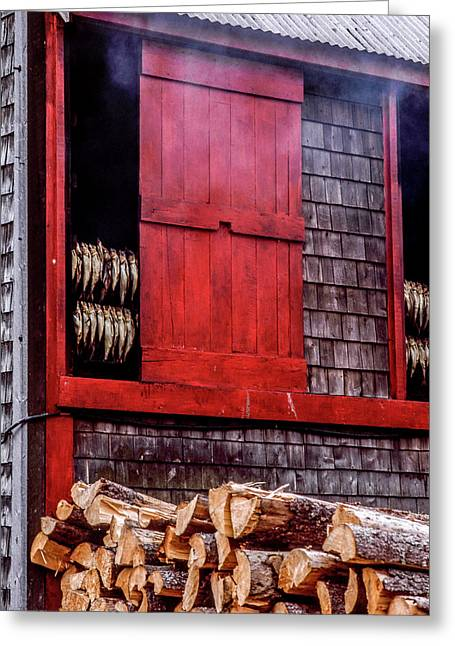 Lubec Smokehouse Greeting Card