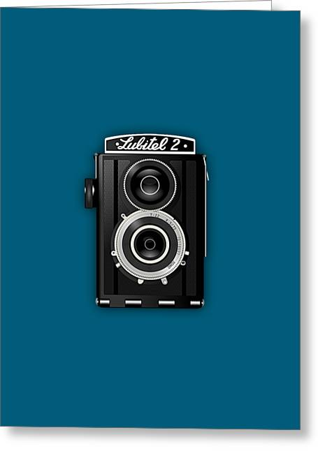 Lubitel 2 Vintage Camera Collection Greeting Card