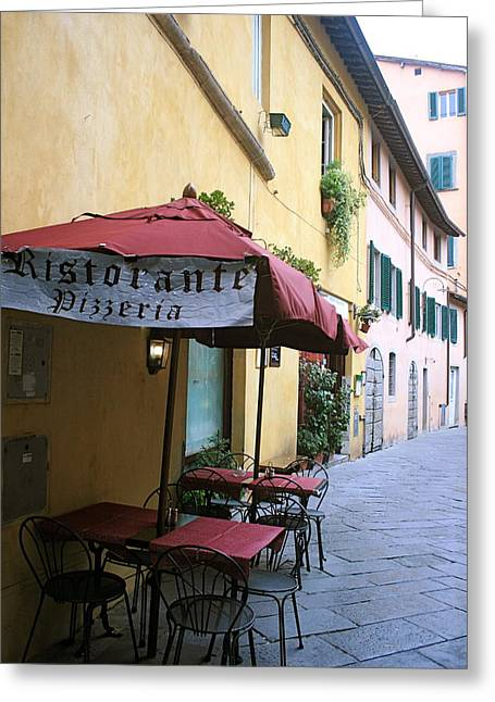 Lucca In Tuscany Greeting Card by  K Scott Williamson