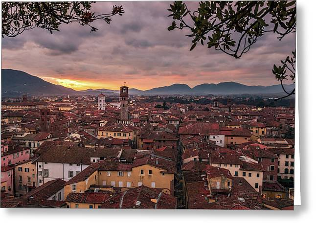 Lucca In Tuscany Greeting Card