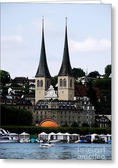 Lucerne Cathedral Greeting Card