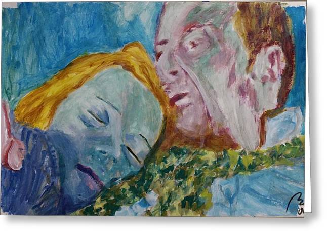 Lucian And Kate Iv Greeting Card by Bachmors Artist