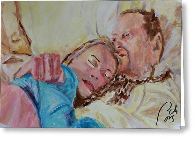 Lucien And Kate II Greeting Card by Bachmors Artist