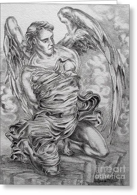 Lucifer Bound Greeting Card