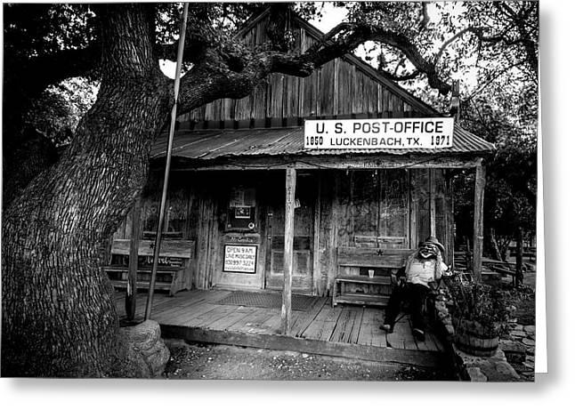 Luckenbach Texas Greeting Card