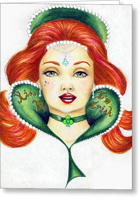 Lucky Charms Greeting Card by Scarlett Royal