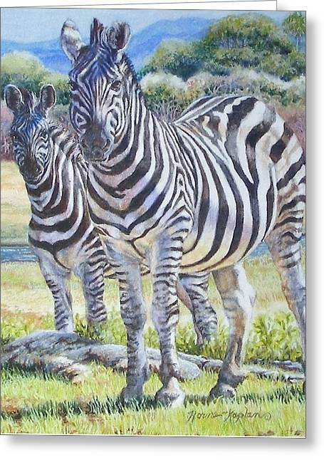 Lucky Stripes Greeting Card