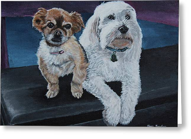 Lucy And Colby Greeting Card