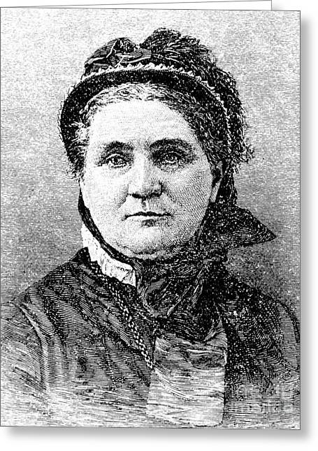 Lucy Larcom (1824-1893) Greeting Card by Granger